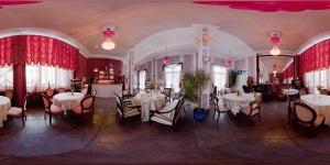 Wnetrza restauracji Antrakt